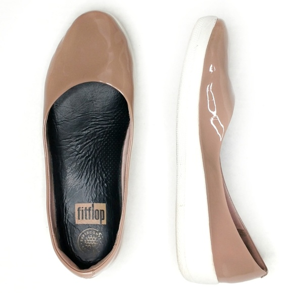 17ad18c29e2f FitFlop Super Ballerina Slip-On Shoes Nude 8. M 5b4cf28fa31c3368ab52aa36